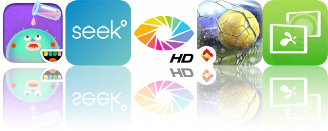 Today's Apps Gone Free: Toca Lab: Elements, Seek, Orasis and More