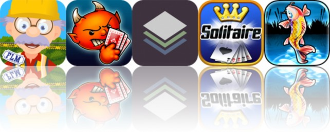 Today's Apps Gone Free: Build With Grandpa, Spite and Malice, Stackables and More