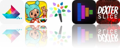 Today's Apps Gone Free: Sea of Squares, Toca Life: City, Paintkeep and More