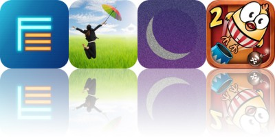 Today's Apps Gone Free: Flashback, Levitagram, White Noise and More