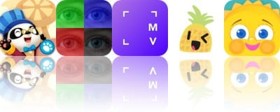 Today's Apps Gone Free: Dr. Panda's Carnival, PixelWakker, Myvinchy and More