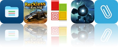 Today's Apps Gone Free: Pocket Files, Reckless Racing, Blicke and More