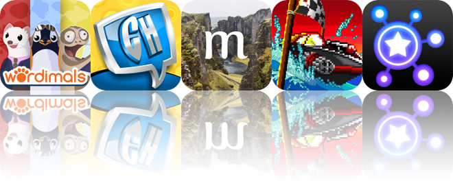 Today's Apps Gone Free: Wordimals, Comics Head, Muse and More