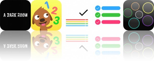 Today's Apps Gone Free: A Dark Room, Sago Mini Puppy Preschool, Taskcode and More