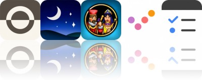 Today's Apps Gone Free: Fonta, Star Rover, Pinochle and More