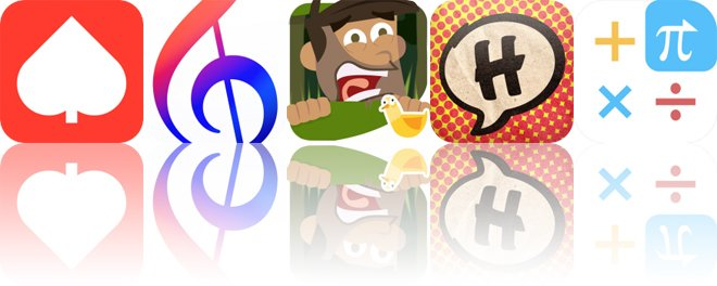 Today's Apps Gone Free: Solitaire Seven, Music Tutor, Island Escape and More