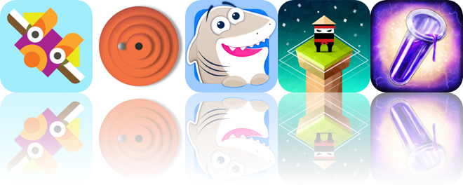 Today's Apps Gone Free: Shaky Totems, Maze Zen, Nice Shark and More