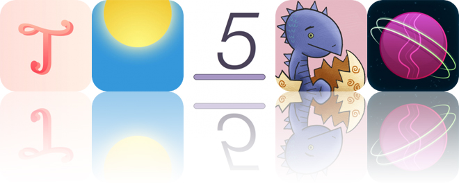 Today's Apps Gone Free: Typic, Sunriser, Digit Shelves and More