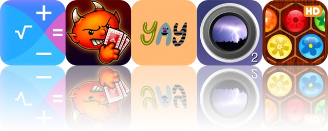 Today's Apps Gone Free: Xmart Calculator, Spite and Malice, Wurps and More