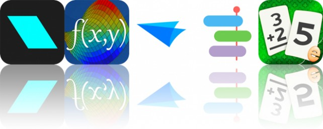 Today's Apps Gone Free: Oblique, Visual Math 4D, Flow and More