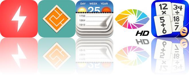 Today's Apps Gone Free: Wake N Shake, Minimal Maze, Calendarium and More