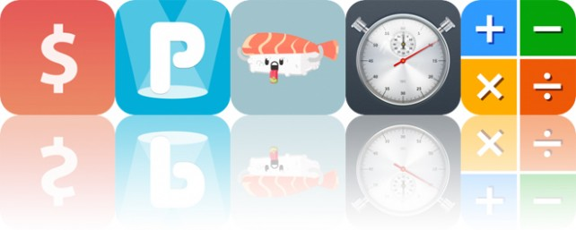 Today's Apps Gone Free: AnyRate, PepDash, Sushi Stickers and More