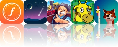 Today's Apps Gone Free: Fudget, SkySafari, Train Conductor and More