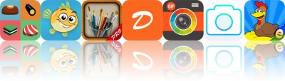 Today's Apps Gone Free: Sweet Factory, Musical Paint, MyBrushes and More
