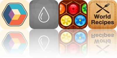 Today's Apps Gone Free: Colorcube, Relax Rain, Flower Board and More