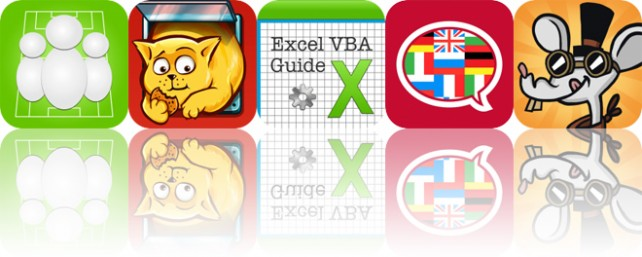 Today's Apps Gone Free: Lineup, Cat on a Diet, VBA Guide for Excel and More