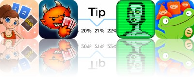 Today's Apps Gone Free: Duo, Spite and Malice, Tip Calculator and More