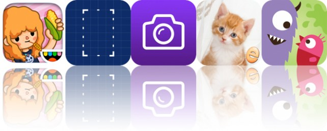 Today's Apps Gone Free: Toca Life: Farm, Screenshots, deGeo Camera and More