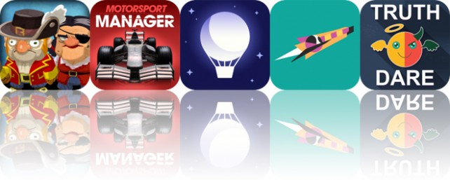 Today's Apps Gone Free: Scurvy Scallywags, Motorsport Manager, Sleep Timer and More