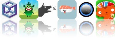Today's Apps Gone Free: Kubic, Teach Your Monster to Read, Good Woofy and More