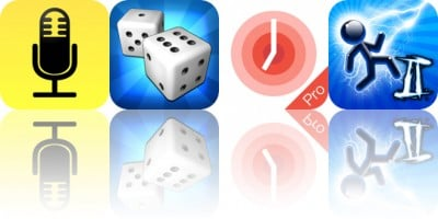 Today's Apps Gone Free: Audio Notebook, Backgammon, One Tomato and More