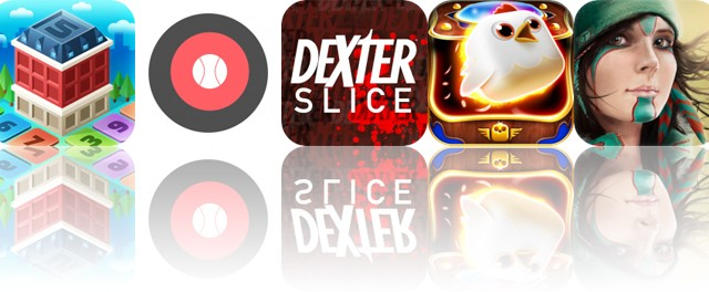 Today's Apps Gone Free: My Little Town, Baseball Radar Gun, Dexter Slice and More