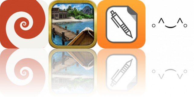 Today's Apps Gone Free: HyperDroste, The Hunt for the Lost Treasure, TextEdit+ and More