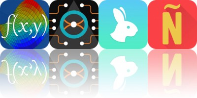 Today's Apps Gone Free: Visual Math 4D, Pila, Rabbit and More
