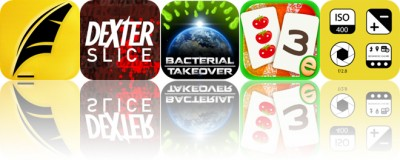 Today's Apps Gone Free: Textkraft, Dexter Slice, Bacterial Takeover and More