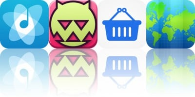 Today's Apps Gone Free: Cesium, Dungeonism, Jotalicious and More