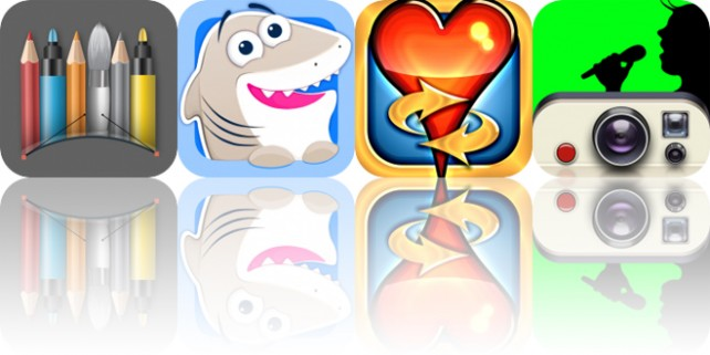 Today's Apps Gone Free: Snap Markup, Nice Shark, Hearts Tournament and More