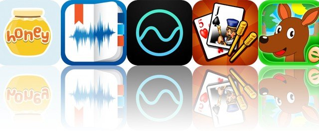 Today's Apps Gone Free: Honey Stickers, eXtra Voice Recorder, Noizio and More