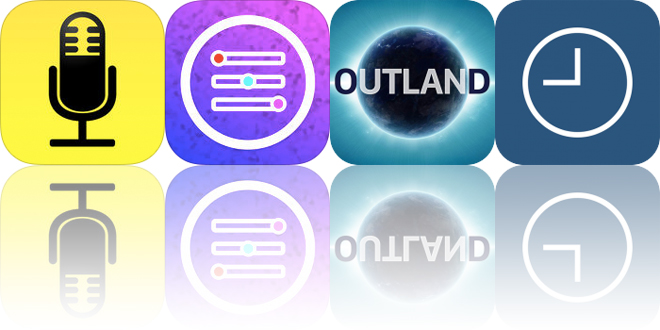 Today's Apps Gone Free: Audio Notebook, Picture Perfect, Outland and More