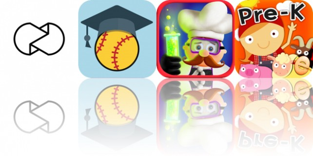 Today's Apps Gone Free: Unfold, Softball Bound, Tiggly Chef and More