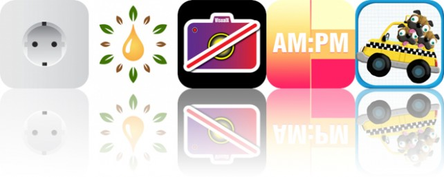 Today's Apps Gone Free: Plugs of the World, Essential Oils, VisualX and More