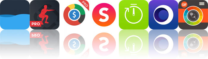 Today's Apps Gone Free: Water, Runtastic Squats, DayCost and More