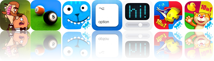 Today's Apps Gone Free: Bertram Fiddle, Pool Break, Fun on the Farm and More