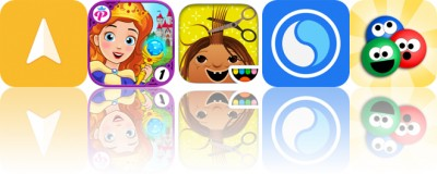 Today's Apps Gone Free: Anchor Pointer, My Little Princess, Toca Hair Salon and More