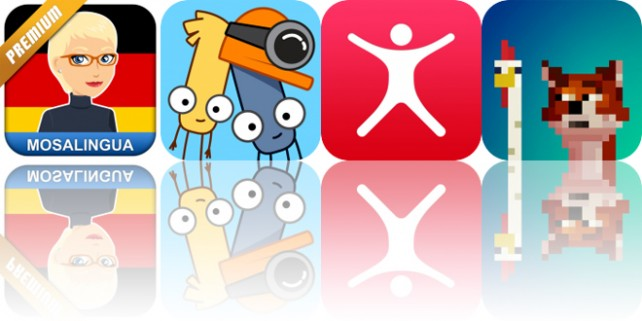 Today's Apps Gone Free: MosaLingua, Workouts++, Who's Mining? and More