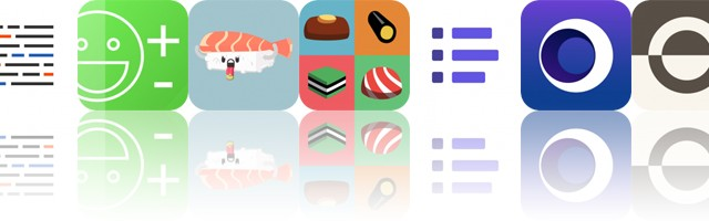Today's Apps Gone Free: Blink, Newton, Sushi Stickers and More