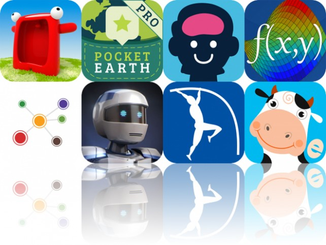 Today's Apps Gone Free: Talking Carl, Pocket Earth, Brainbean and More