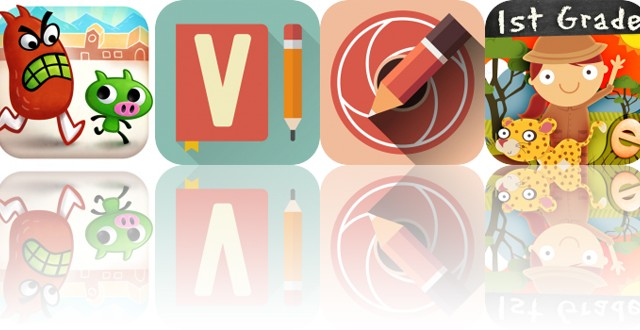 Today's Apps Gone Free: Gesundheit, Vocabulary, Sketch Me and More