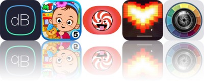 Today's Apps Gone Free: Decibel Meter, My Town: Daycare, Cinderly's Holiday Sparkle and More