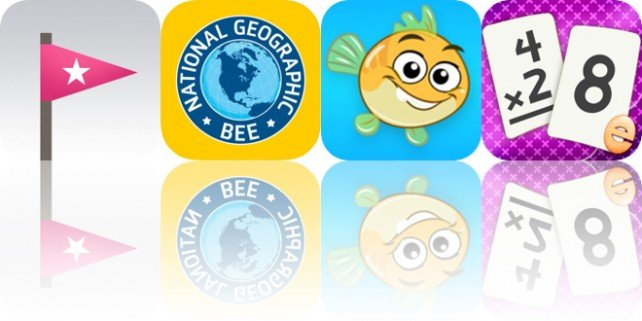 Today's Apps Gone Free: Trick Shot, GeoBee Challenge, Musical Paint for Kids and More