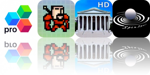 Today's Apps Gone Free: OfficeSuite, Tower of Fortune, National Gallery and More