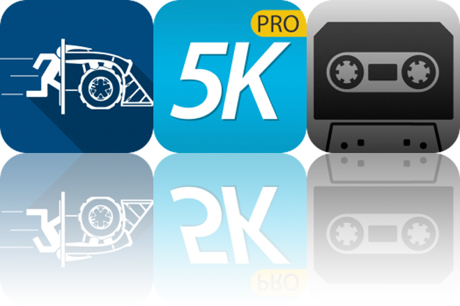 Today's Apps Gone Free: Tile Rider, 5K Trainer and Tape