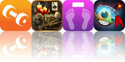 Today's Apps Gone Free: Carb Cycling, Solitaire Dungeon Escape, WeightTrackerHK and More