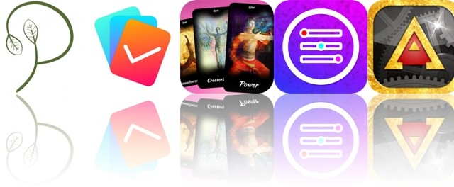 Today's Apps Gone Free: Purely Vegan, Planny, Inner Oracle Cards and More