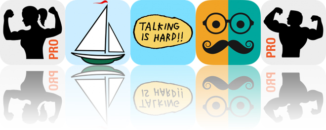 Today's Apps Gone Free: Fitness Point, Sail Buddy, Talking is Hard and More