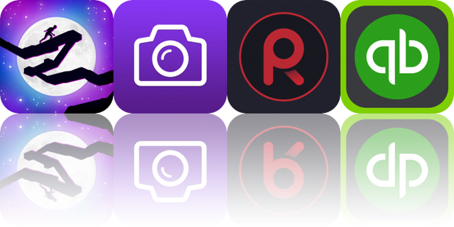 Today's Apps Gone Free: Lunar Ledge, deGeo Camera, Voice Record and More